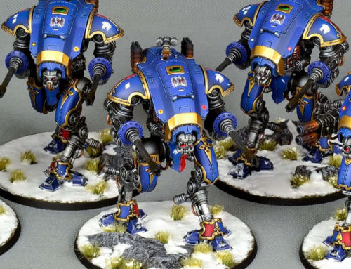 Armiger Warglaives and Helverines of House Terryn (gold level)