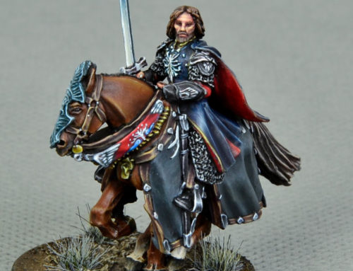 Aragorn at the Black Gate (display level)