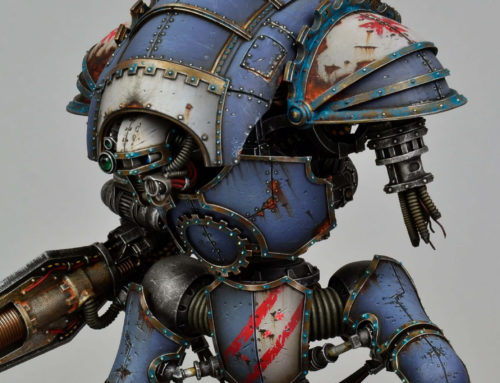 Cerastus Knight Atrapos (display level)