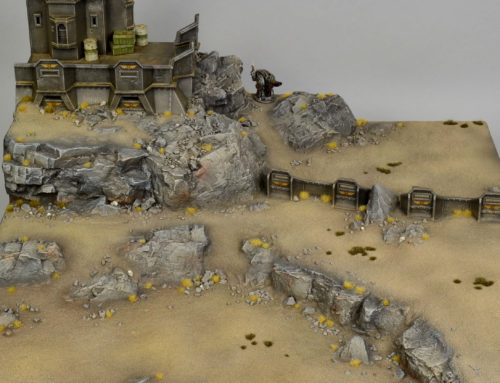 Wasteland Display Board