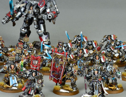 Grey Knights Commission (gold and platinum level)
