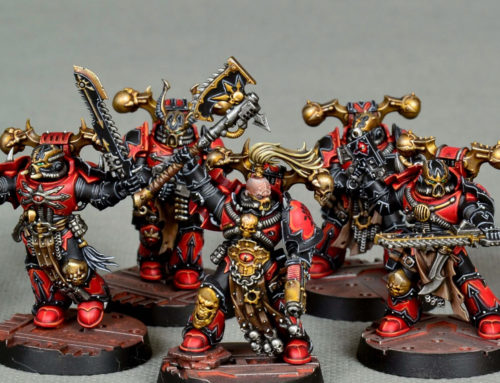 Red Corsairs Kill Team (gold quality)