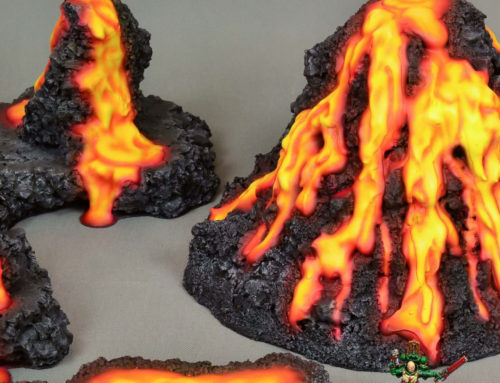 Lava Terrain Sets